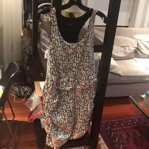 Laundry by shelli segal silver sequin mini NWOT